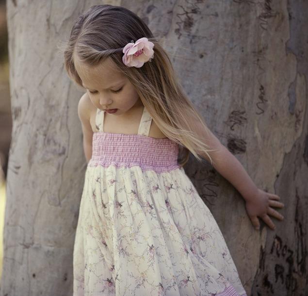 Tea Princess es sin  nimo a moda para ni  as de corte rom  ntico