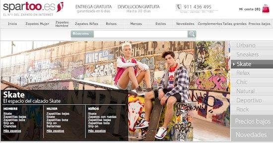 Spartoo.es, zapatos para niños y para toda la familia, tienda online de calzado Spartoo.es
