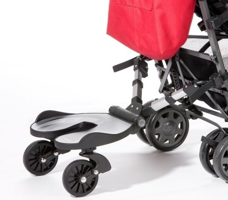 Patín plataforma Bumprider, compacto, cómodo y fácil de instalar, adaptable a todos los cochecitos y sillas Bumprider