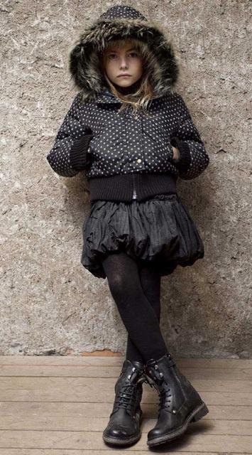 IKKS, moda infantil, ropa para niños y niñas colección de invierno de IKKS