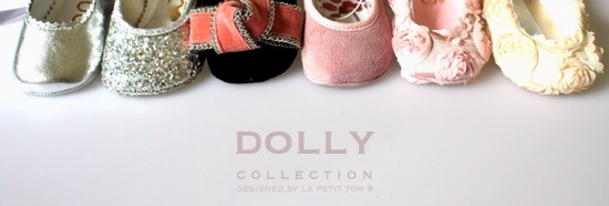 Dolly Collection, zapatos para bebés, calzado infantil muy elegante, nueva colección de zapatitos de Dolly Collection