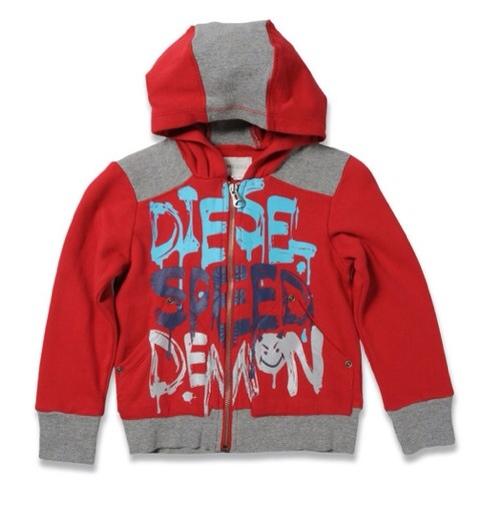 Diesel, moda infantil, ropa para niños y niñas, moda infantil actual colección otoño-invierno de Diesel