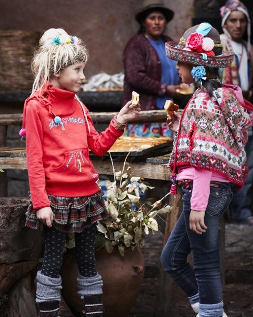 Muy Malo, moda infantil, ropa para niñas original y con mucho color, colección otoño-invierno Muy Malo