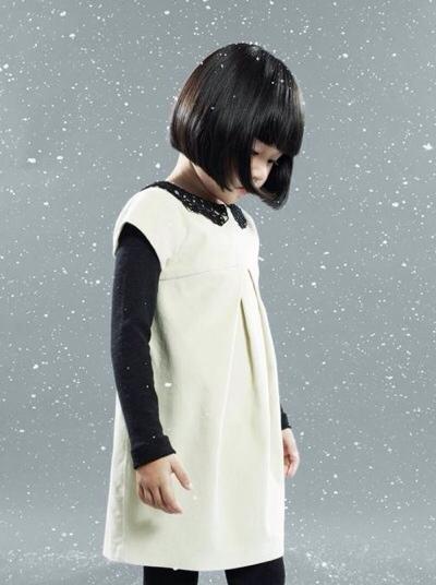 Lili Gaufrette, moda infantil, ropa para niñas otoño-invierno de Lili Gaufrette