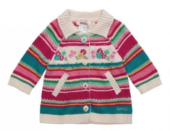 Kenzo Kids moda infantil colección otoño-invierno, ropa para niños Kenzo Kids
