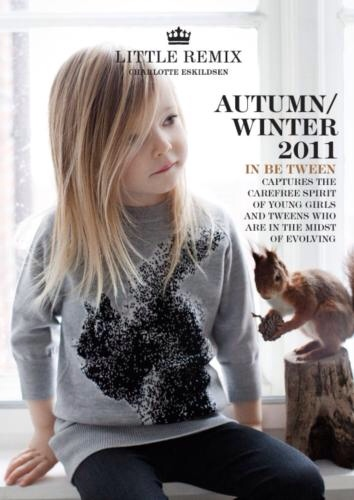 Little Remix, moda infantil informal y moderna, ropa para niñas y chicas jovencitas otoño-invierno de Little Remix