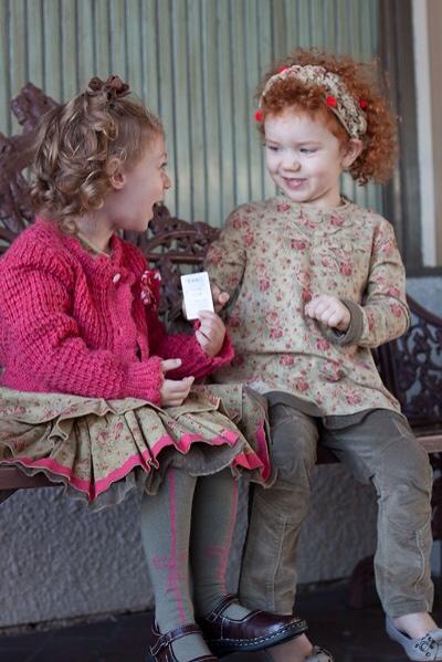 Eliane et Léna, moda para niñas, ropa infantil colección de invierno de Eliane et Léna