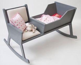 Rockid, cuna de diseño, cuna y mecedora, muebles infantiles originales de Ontwerpduo.nl