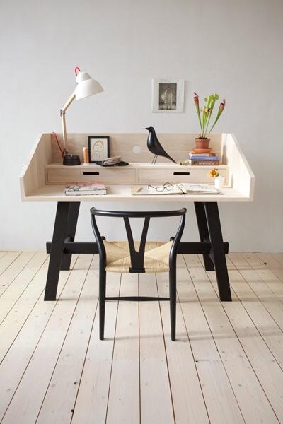Slow Wood, mesas y escritorios, muebles de madera, diseño de muebles para la habitación infantil de Slow Wood