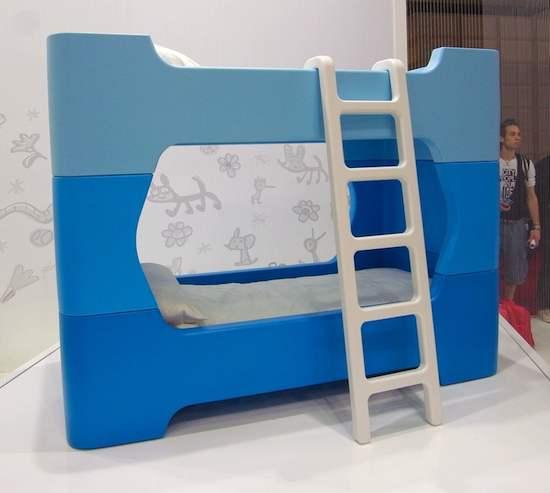 Bunky de Magis, cama infantil y litera, muebles infantiles de Marc Newson para Magis