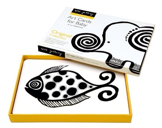 Wee Gallery, juegos de estimulación temprana para bebés, tarjetas de animales de Wee Gallery