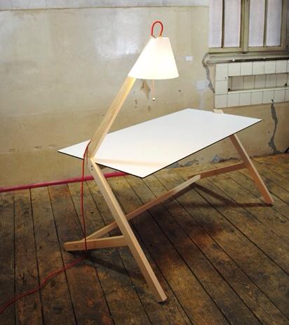 Florian kallus escritorio y lampara mesa con luz - Mesa escritorio infantil ...