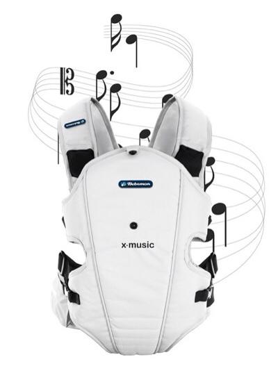 X-Music, mochila portabebé con música incorporada, mochila portabebé de Bebemon