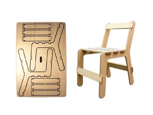 chairfix silla puzzle regalos infantiles originales muebles infantiles ben wilson