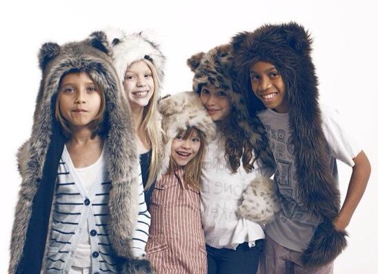 Spirit Hoods Kids, gorros originales para niños, gorros y manoplas infantiles de diseño Spirit Hoods