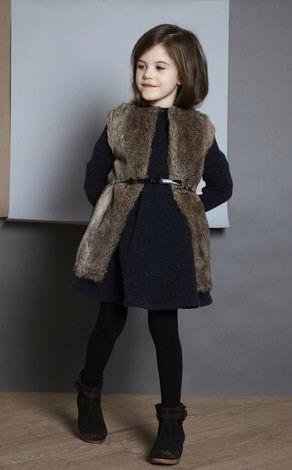 Phillip Lim, moda infantil, ropa para niñas elegante y original, colección de invierno de Phillip Lim