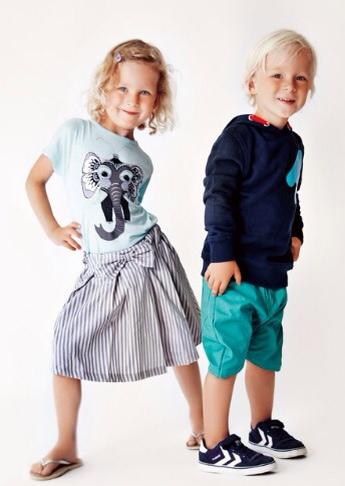 Mini Nümph, moda infantil, ropa para niños y niñas, colección de verano de Mini Nümph