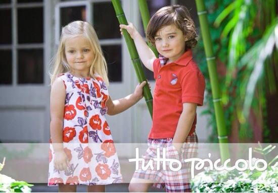 Tutto Piccolo, moda infantil, ropa para niños y niñas colección de verano de Tutto Piccolo
