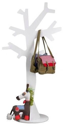 Woood, perchero en forma de árbol para la habitación infantil, organizar las habitaciones infantiles con Woood