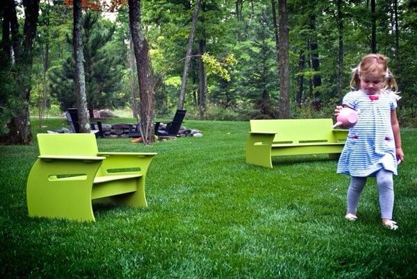 Loll Designs, muebles de exterior para niños, muebles infantiles de Loll Designs
