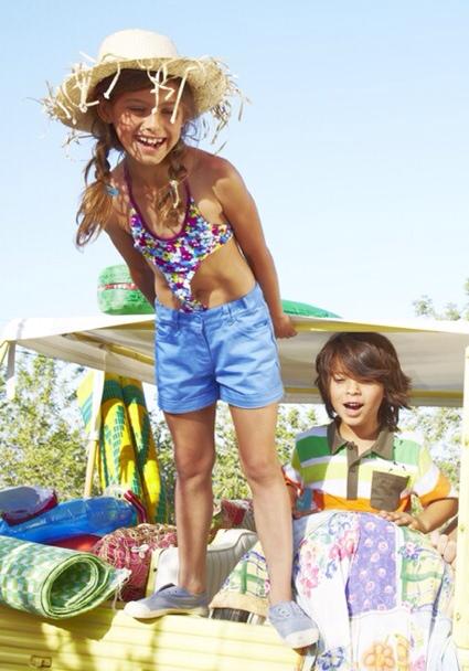 Tuc Tuc, moda infantil, moda baño para niños, bañadores infantiles de Tuc Tuc para este verano