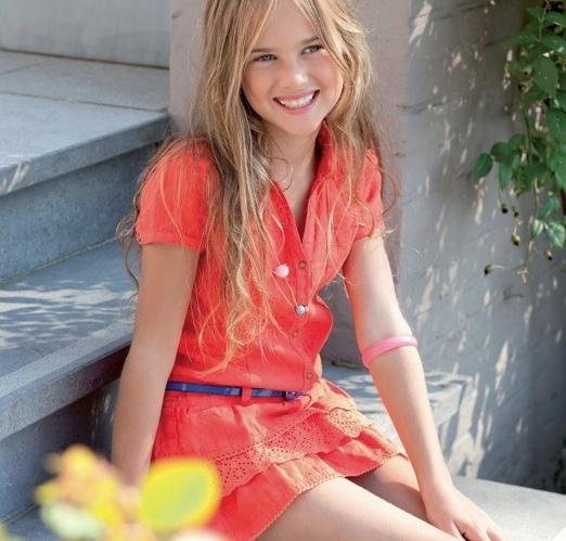 Pauline B, moda para niñas, moda infantil y juvenil, colección de moda de verano de Pauline B