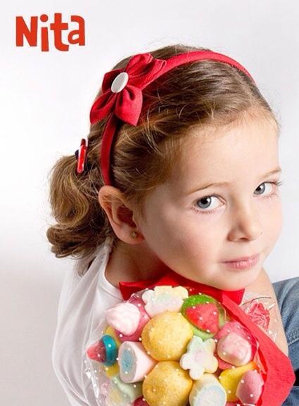 Nita, accesorios para el pelo, complementos infantiles de moda en Nita.com.es, descuento del 15% para nuestras lectoras