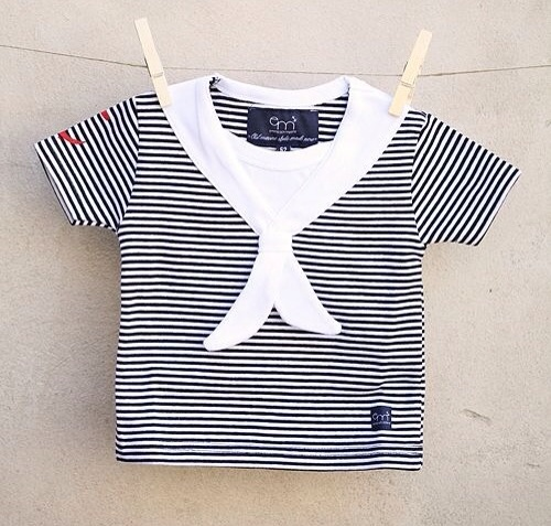 Moda marinera para bebés, ropa para verano
