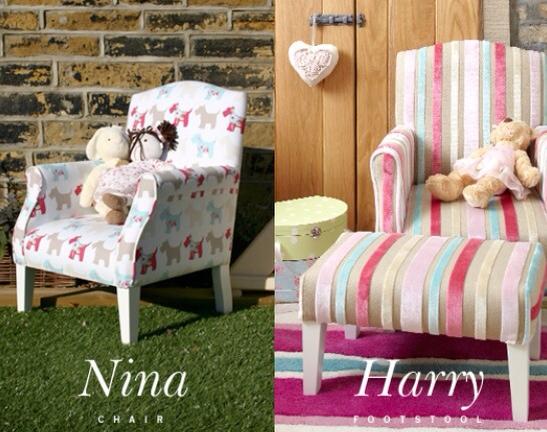 Sillas y sillones tapizados para ni os gledhillandco - Telas tapizar sillas ...