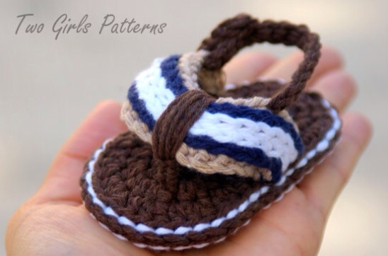 Varon Sandalias Crochet Imagui Crochet Bebé Sandalias v08wmnNO