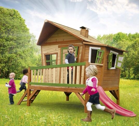 Casitas de madera y muebles de jard n para ni os for Casitas de jardin de madera