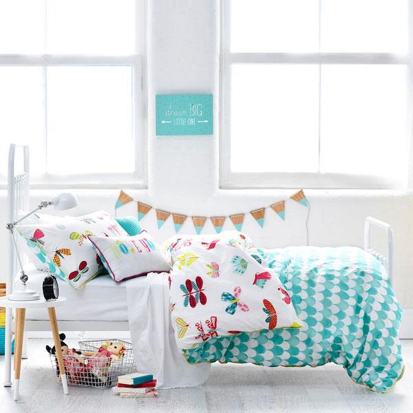 Inspiraci n habitaciones infantiles ropa de cama - Ropa de cama zaragoza ...
