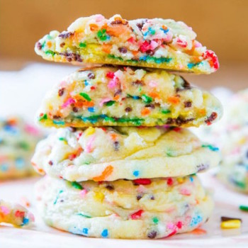 galletas confetti