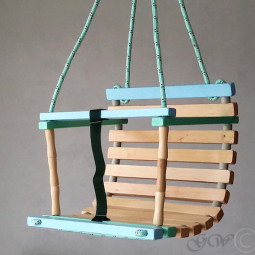 green wood LT Etsy wooden swing