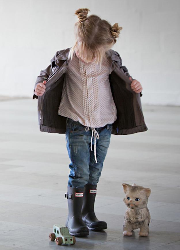 ropa para niñas con estilo