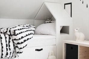 Casita para la habitación infantil de Bedhuisje o DIY