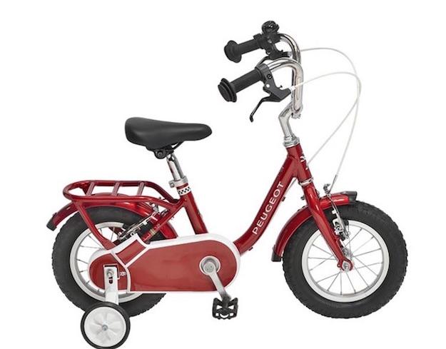 peugeot bicis para niños vintage rojo