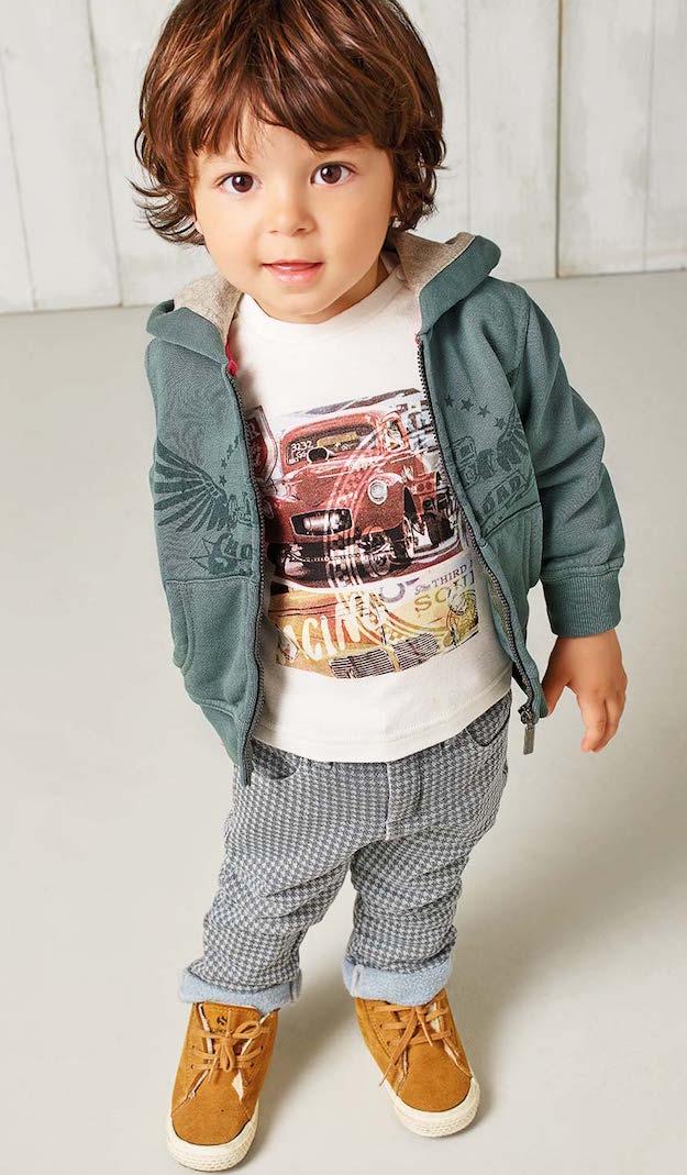 Ropa De Moda Para Nios. El Estilo En Moda Infantil De Hugo ...