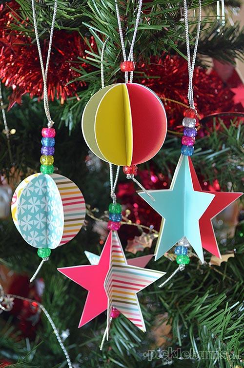 Manualidades de Navidad con niños