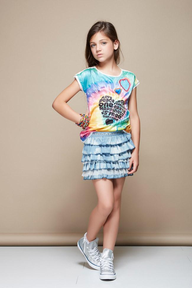 Top Gaudi Italia moda teenager atractiva GO49