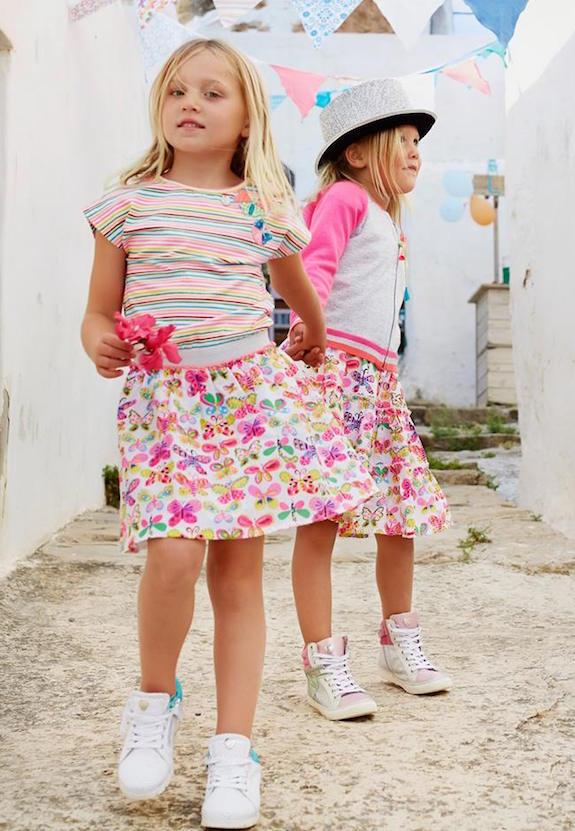 Mimpi faldas para niñas