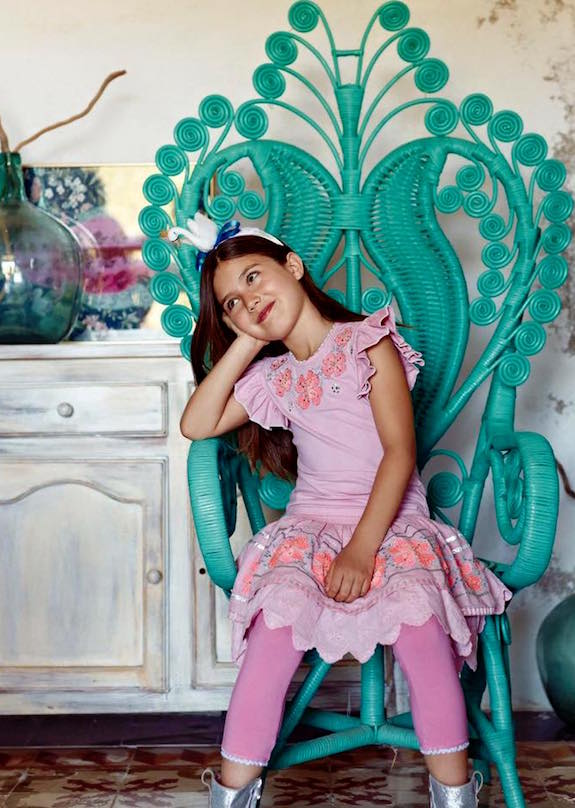 Mimpi moda colorida faldas