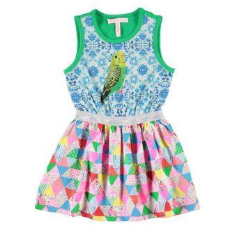 Mimpi moda colorida vestido