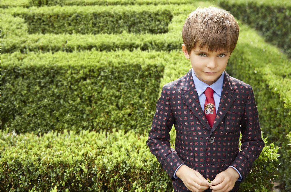 ... كولكششِن ... Gucci-Lee-Clower-CHILDRENS_SS71-blazer