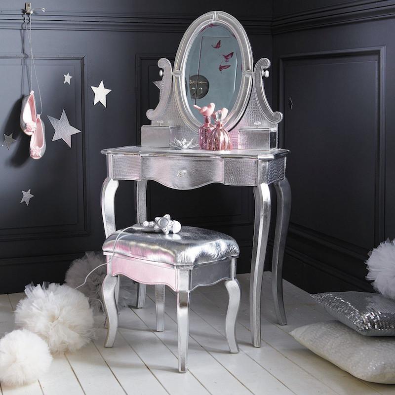 Amueblando una habitaci n infantil con lionshome - Tocador madera nina ...