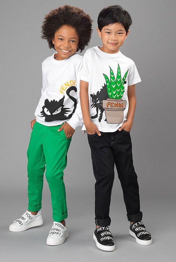 moda alegre para niños