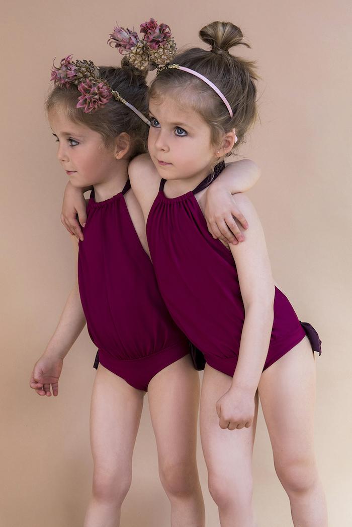 Bqueenie bañadores para niña, Bqueenie moda baño infantil
