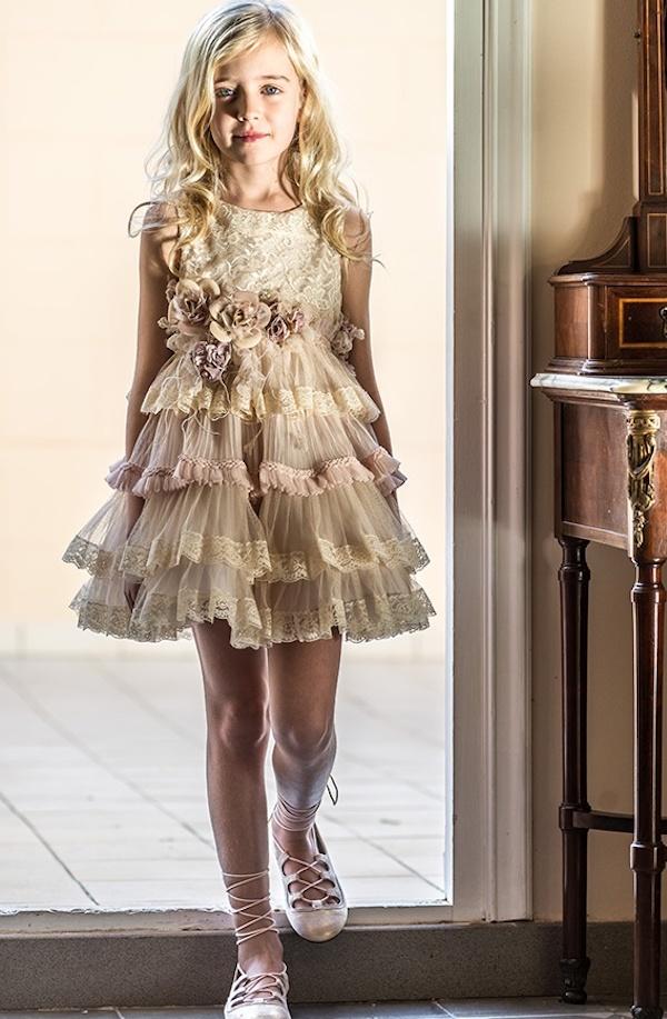 Hortensia Maeso adolescentes, moda niñas para fiesta