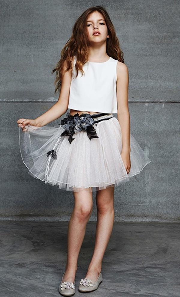 Hortensia Maeso adolescentes, moda joven para fiesta