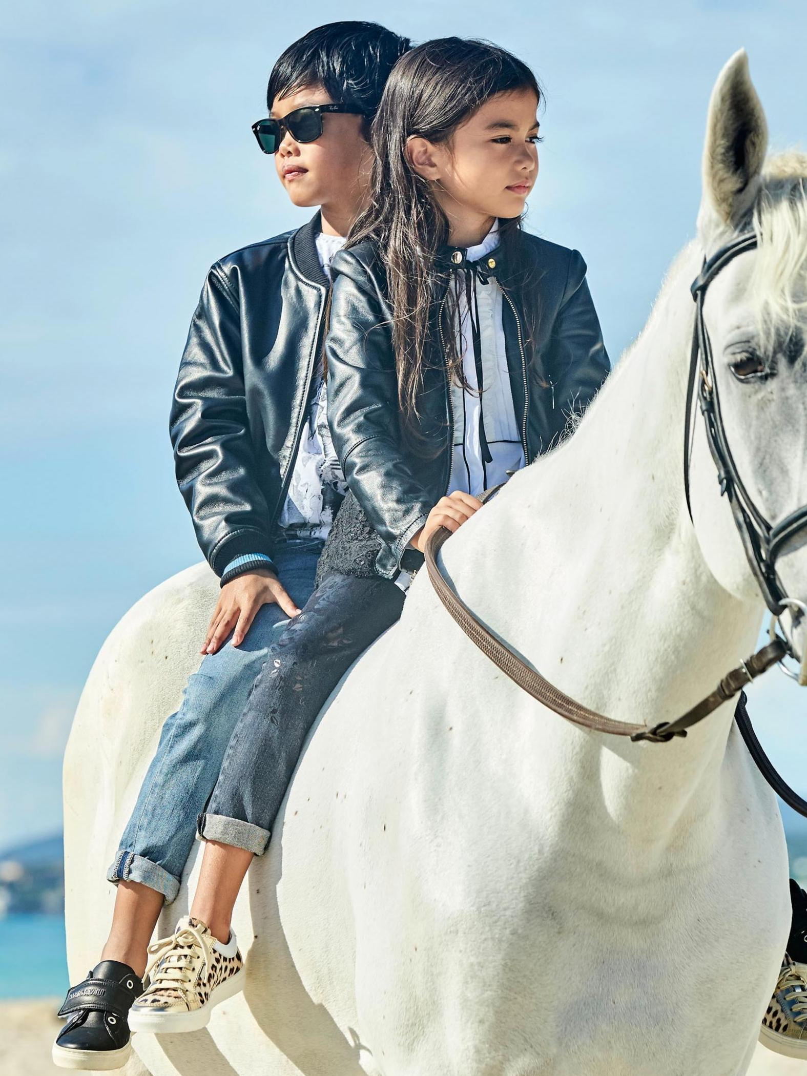 roberto cavalli moda infantil